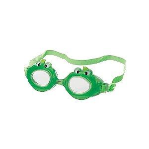 Óculos De Natação Speedo Fun Club Sapo - Verde