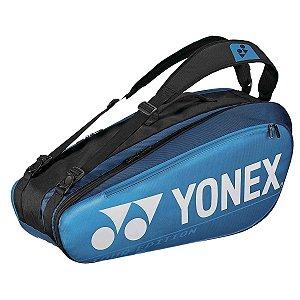 Raqueteira Yonex Pro X6 Azul e Preto