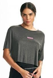 Camiseta Colcci - Mescla Cinza