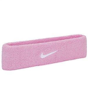Testeira Nike Swoosh Rosa Claro