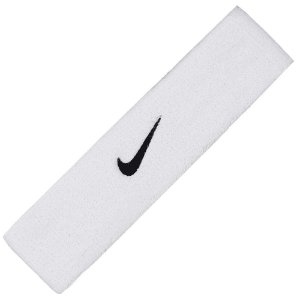 Testeira Nike Swoosh - Branco e Preto
