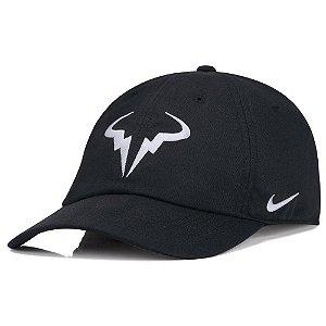 Boné Nike Aerobill H86 Rafa Tennis Preto