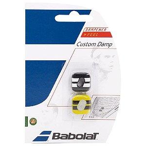 Antivibrador Babolat Custom Damp X2 - Preto e Amarelo