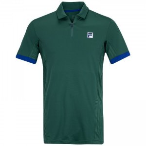 Camisa Polo Fila 70 Tech Verde