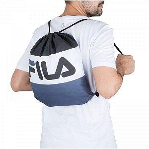 Sacola Bolsa Fila Flag Preta - Gym Sack