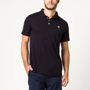Camisa Polo Fila Spot II - Preta