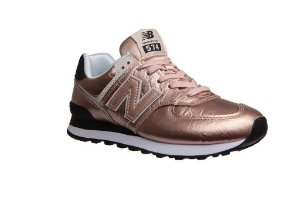 Tênis New Balance 574 - Bronze