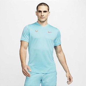 Camiseta Nike Court Rafa Nadal Challenger - Azul