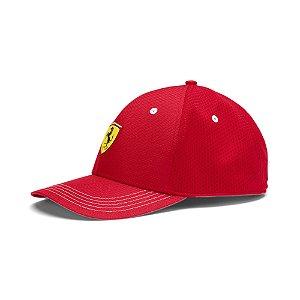 Boné Puma Ferrari Fanwear BB - Vermelho
