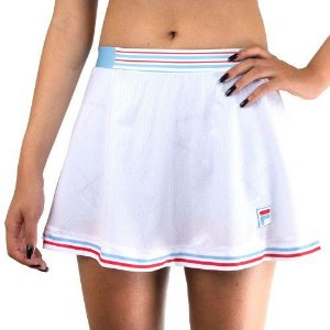 Saia Shorts Fila Team 84 - Branca