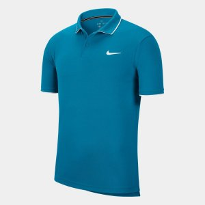 Camisa Polo Nike Court Dri-fit - Azul