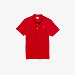 Camisa Polo Lacoste Sport Tennis Regular Fit Malha Superleve - Vermelha