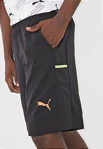 Shorts Puma RTG Woven 10 - Preta