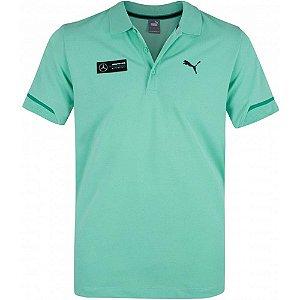 Camisa Polo Puma Mercedes AMG Petronas - Verde Agua