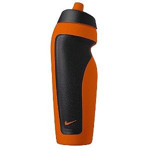 Garrafa Squeeze Nike Sport - Laranja e Preta