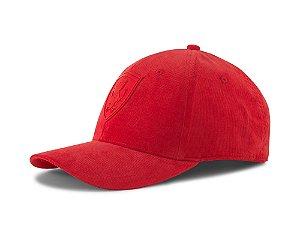 Boné Puma Ferrari Style BB Cap - Vermelho