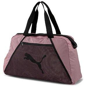 Bolsa Puma Essential Grip Bag - Rosa e Preto