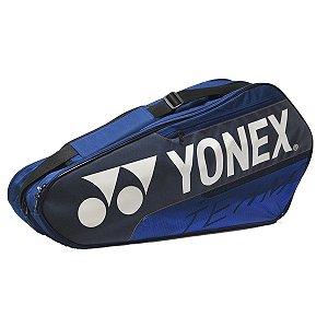Raqueteira Yonex Team Dupla X6 2020 - Azul