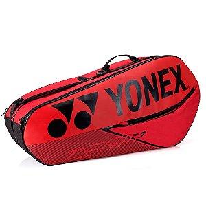 Raqueteira Yonex Team Dupla X6 2020 - Vermelha