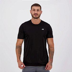Camiseta New Balance PES Performance 100% Poliéster - Preto