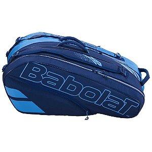 Raqueteira Babolat Racket Holder X12 Pure Drive - Azul