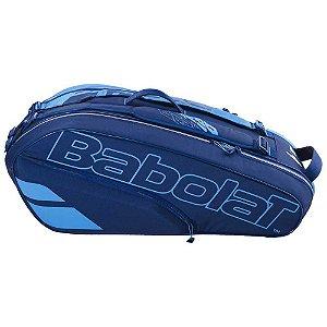 Raqueteira Babolat Racket Holder X6 Pure Drive 2021 - Azul