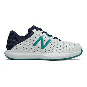 Tênis New Balance 696 V4 - Branco/Verde - Masculino
