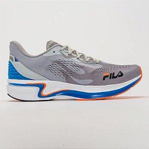 Tênis Fila Racer Silva - Prata/Azul/Laranja