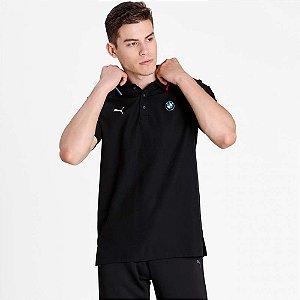 Camisa Polo Puma BMW MMS 2021 - Preta