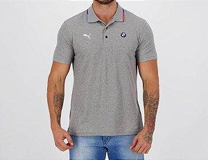 Camisa Polo Puma BMW MMS - Cinza