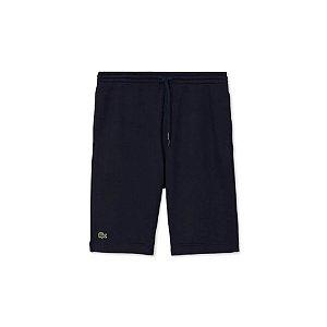 Shorts Lacoste Moletom - Azul Marinho