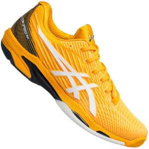 Tênis Asics Solution Speed FF 2 All Court - Amarelo Amber e Branco