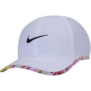 Boné Nike Youth Featherlight Seasonal Branco