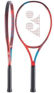 Raquete de Tenis Yonex Vcore100 Vermelho e Azul