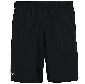 Shorts Lacoste Sport - Preto (Poliéster)