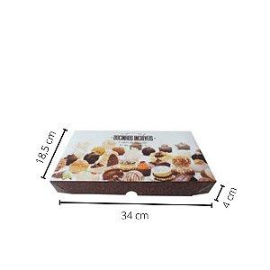 Cx Doce DO-02 34x18,5x4 cm. Pacote c/10 unid. Valor unid.R$ 3,14