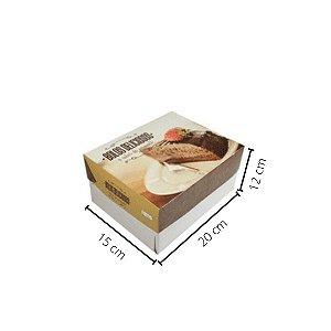 Cx Bolo BR-01   20x15x12 cm. Pacote c/10 unid. Valor unid. R$ 2,59