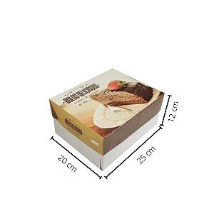 Cx Bolo BR-02    25x20x12 cm. Pacote c/10 unid. Valor unid. R$ 4,46