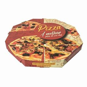 Caixa para Pizza  35 - cm - C 350 x L 350 x A 40 mm  Pacote com 25 unidades