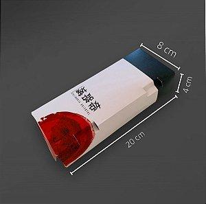 Cx J-10 -    20x8x4 cm. Pacote com 50 unid. Valor unid. R$ 1,19