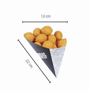 Cx  Cone- 12x12x22 cm. Pacote com 50 unid. Valor unid. R$ 1,21