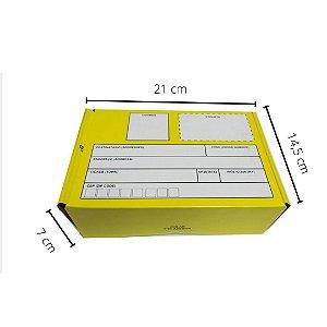 EX-9721 -  21x14,5x7 cm. Pacote C/ 10. Valor unid. R$ 3,19