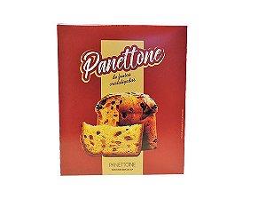 Embalagem para Panetone - C 135 x L 135 x 165 mm. Pacote com 50 unidades