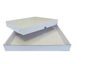 Caixa Doce e Salgado 03- C 335 x L 322 x A 40 mm.  Pacote com 10 unidades