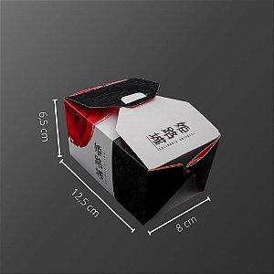 Cx J-09 -  12,5x8x6,5 cm. Pacote com 50 unid. Valor unid. R$ 1,29
