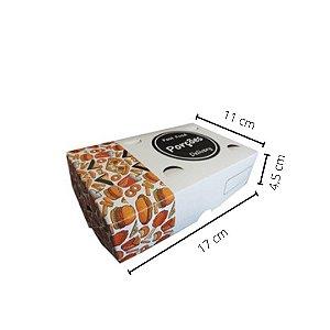 Cx POR-01-   17x11x4,5 cm. Pacote com 50 unid. Valor unid. R$ 1,19