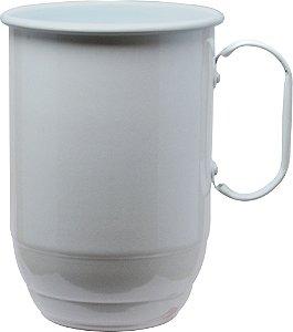 10 Canecas de Alumínio Sem Estampa para Transfer e Silk 850 ml