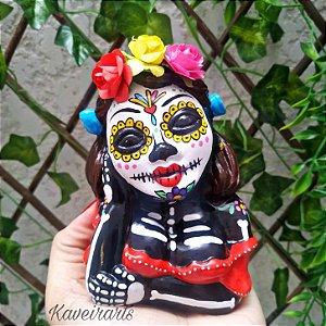 Namoradeira Catrina Mexicana (Pequena)