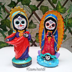 Baby Santa Muerte e Guadalupe Catrina