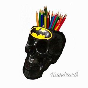 Caveira Porta Treco Simbolo Batman
